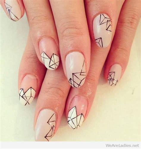 geometric pattern nail art best 25 geometric nail art ideas on pinterest nail art