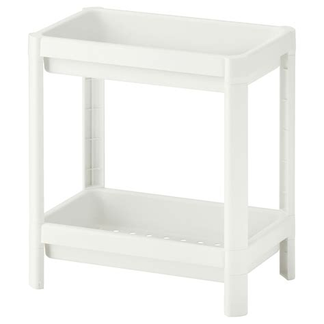 Vesken Shelf Unit White 36x40 Cm Ikea Bathroom Storage Units Ikea