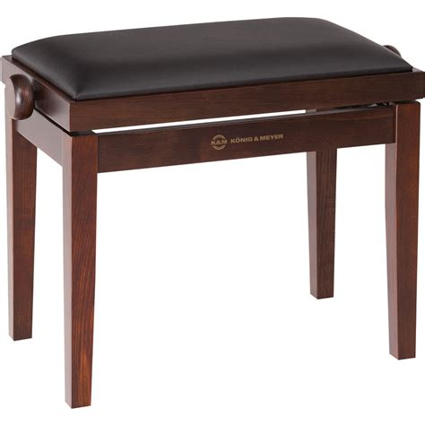 bench m k m 13720 piano bench wooden frame with rosewood 13720 000 24