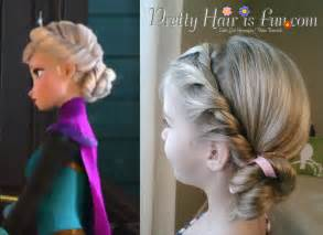 from frozen hairstyle pretty hair is fun girls hairstyle tutorials girl s
