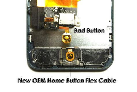 apple ipod touch 5th home button repair service out