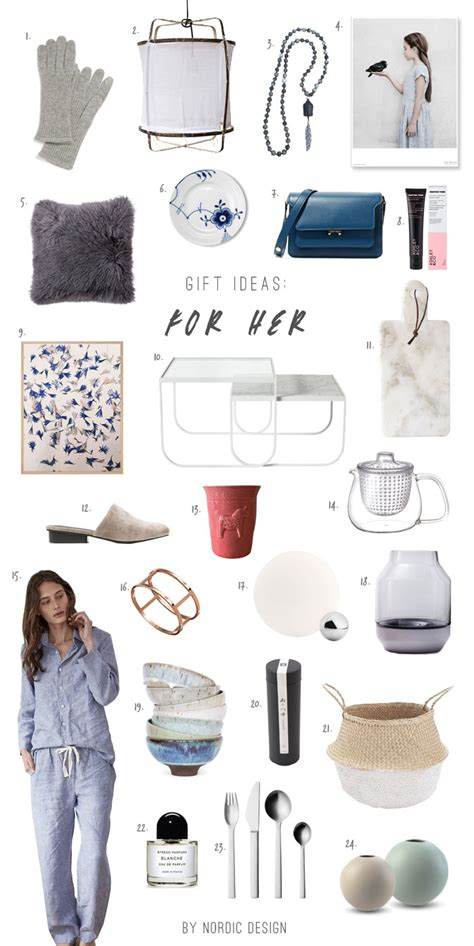 christmas gifts for her 2016 24 gift ideas for her nordicdesign
