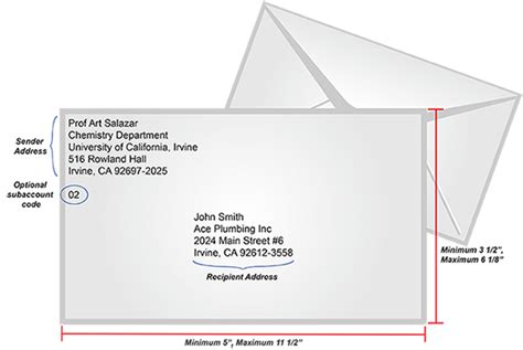 envelope label template uci transportation and distribution services