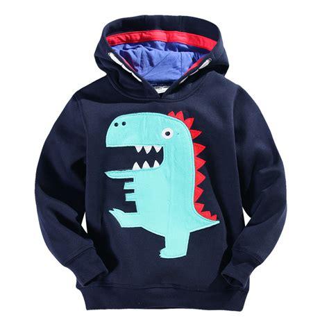 Jaket Hoodies Cotton On fashion boys navy cotton dino pullover jacket hoodies