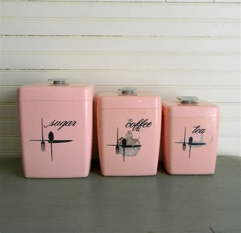 pink canisters kitchen best 25 pink kitchens ideas on pink kitchen
