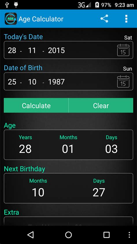 calculate age age calculator apk mod unlock all android apk mods
