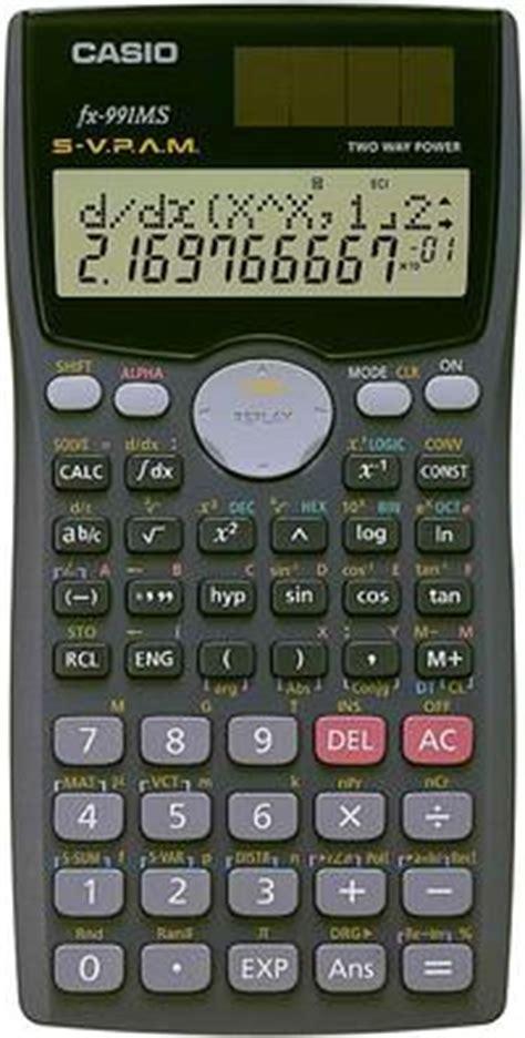 Kalkulator Casio Fx4500 calculatrice scientifique casio fx 991ms plus coopoly