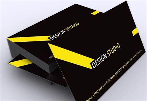 corporate business card template illustrator stylish black yellow free corporate business card template