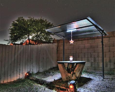 Gazebo With Solar Powered Led Lighting Flickr Photo Gazebo Solar Lights