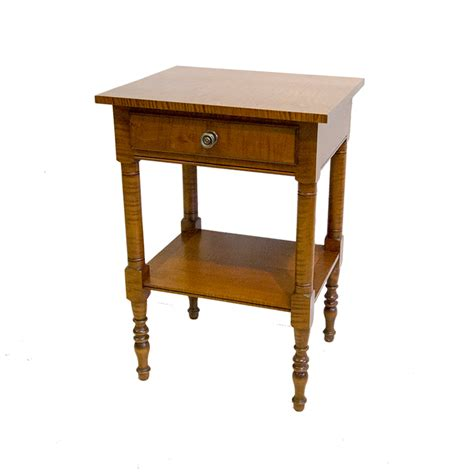 Nightstand With Shelf Sheraton Nightstand With Shelf Eldred Wheelereldred Wheeler