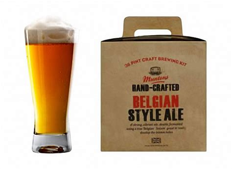 To Handcrafted Beers Made In Local Breweries - muntons crafted belgian style ale kit