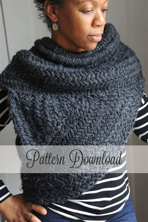 pattern for hunger games sweater knitting pattern the archer s poncho the huntress