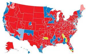 us map election 2014 does this new political map overstate republican strength
