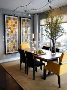 Dinning Room Decor Gray Dining Room Photos Hgtv