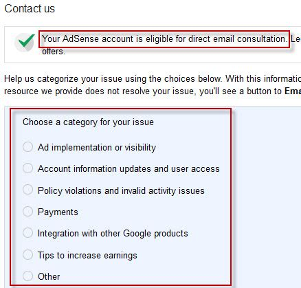 adsense support email get premium google adsense email support tech2blog com