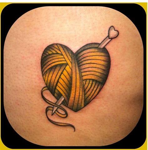 heart shaped tattoo designs 15 yarn tattoos designs