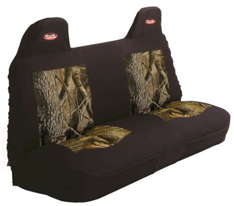 bench seat covers camo full size front bench seat with molded headrest camo cover