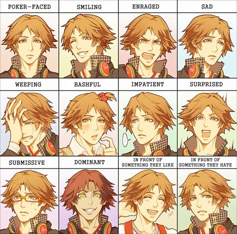 Meme Expression Faces - expression meme brosuke by miimiiakatsuki on deviantart