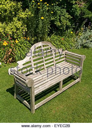 ornate garden bench ornate wooden garden bench seat on green lawn barnsdale