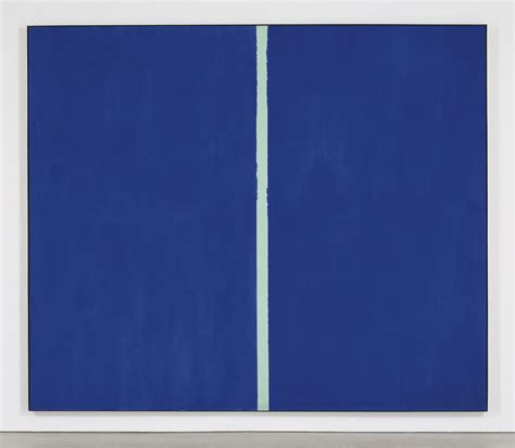 most sold barnett newman s blue hued painting sold for 43 8 million