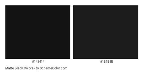color code black matte black color scheme 187 black 187 schemecolor
