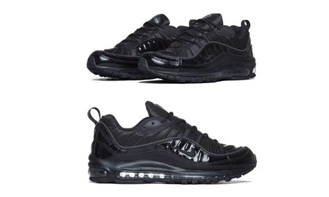 B18673in1 Supreme Quality Color Black supreme x nike air max 98 quot black quot highsnobiety