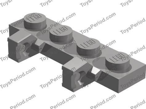 Lego Part Black Plate 1 X 1 Side lego sets with part 44568 hinge plate 1 x 4 locking with 2 single fingers on side vertical dual