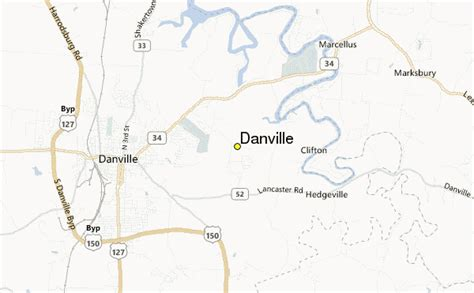 ky map danville danville weather station record historical weather for