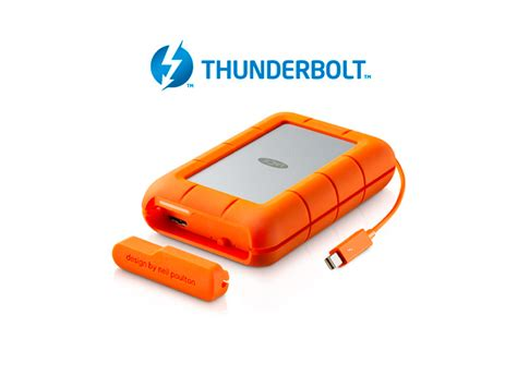 rugged thunderbolt 4tb rugged raid thunderbolt usb 3 0 with integrated thunderbolt cable stfa4000400