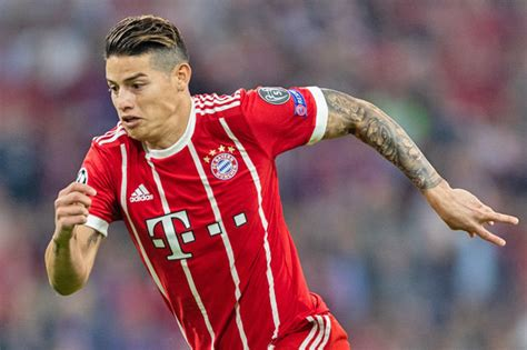 bayern munich  real madrid james rodriguez reveals