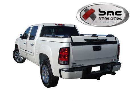 gmc sierra bed cover gmc sierra steel tonneau cover 1500 2500 2007 2013