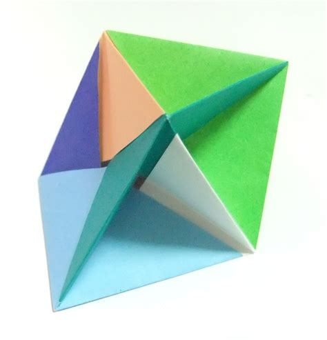 Origami Triangular Prism - origami triangular prism 28 images origami airplane