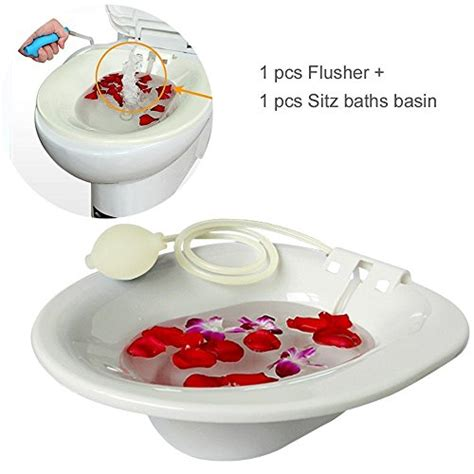 travelmall sitz bath hip bath tub flusher bath basin