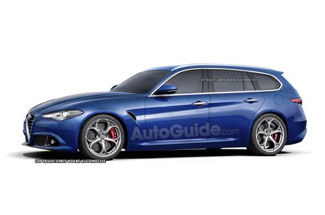 Alfa Romeo Wagon by Alfa Romeo Giulia Coupe And Estate Wagon Renders Leaked