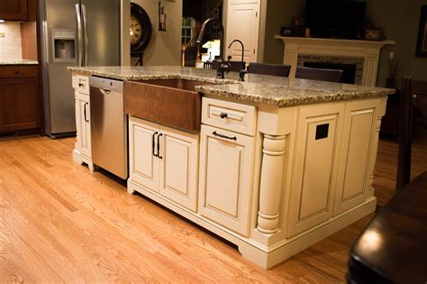 how high is a kitchen island how much room for a kitchen island edgewood cabinetry