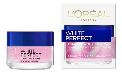 Loreal Whitening l oreal white total recover sleeping mask