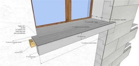davanzali per cappotto termico prezzo davanzale termico isolante copri soglia finestra