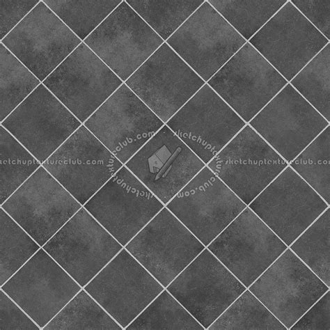 Checkerboard cement floor tile texture seamless 13417