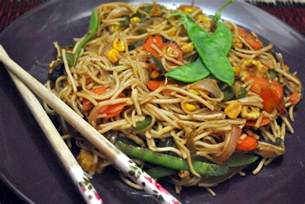cooking with my baby vegetable chow mein noodles