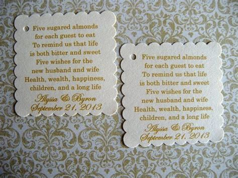 wedding wishes in italian 88 best images about favors almonds on