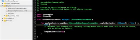xcode custom layout how to create an xcode source editor extension appteve