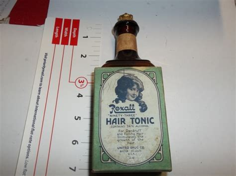 Jual Hair Tonic Barbershop by Vintage Rexall Hair Tonic Bottle Barber Bottle Rexall