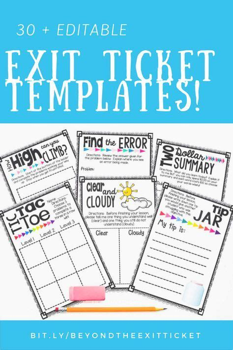 editable ticket template 96 best exit strategies tickets images on