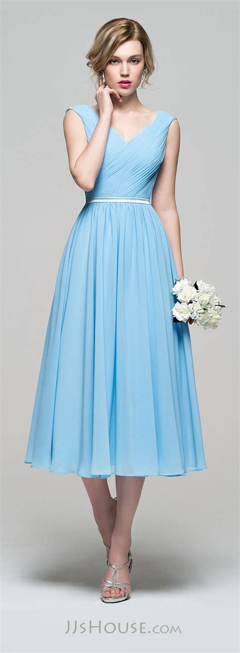 light blue tea length dress light blue wedding dress tea length www pixshark com