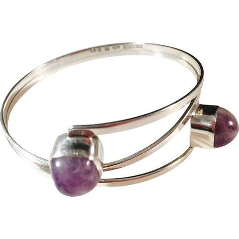 Handmade Sterling Silver Bracelet - bold sterling silver bracelet handmade by modernist