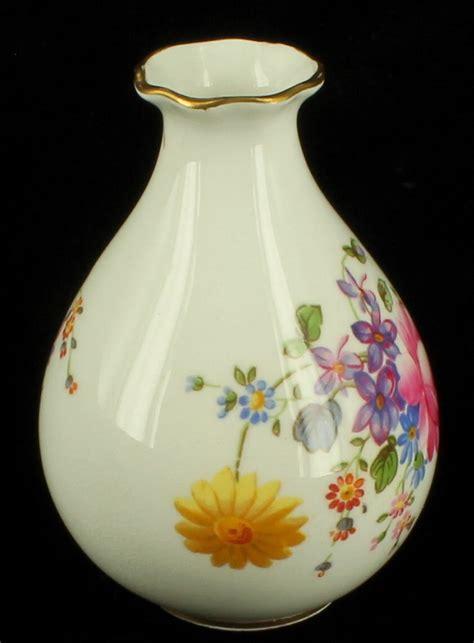 Gold Floral Vases by Vintage Royal Crown Derby Posies Bud Vase Set Floral Gold