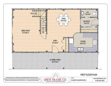 sugar house plans barn house plans classic sugar house 1 post and beam plans