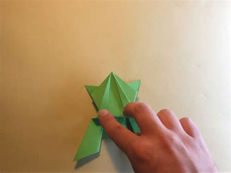 How Do You Make An Origami Frog - how to make an origami jumping frog with pictures wikihow
