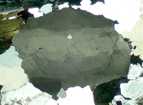 Quartz Thin Section by Igneous Minerals