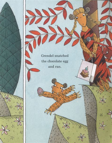 grendel a cautionary tale about chocolate by lucas david 9781406352542 brownsbfs